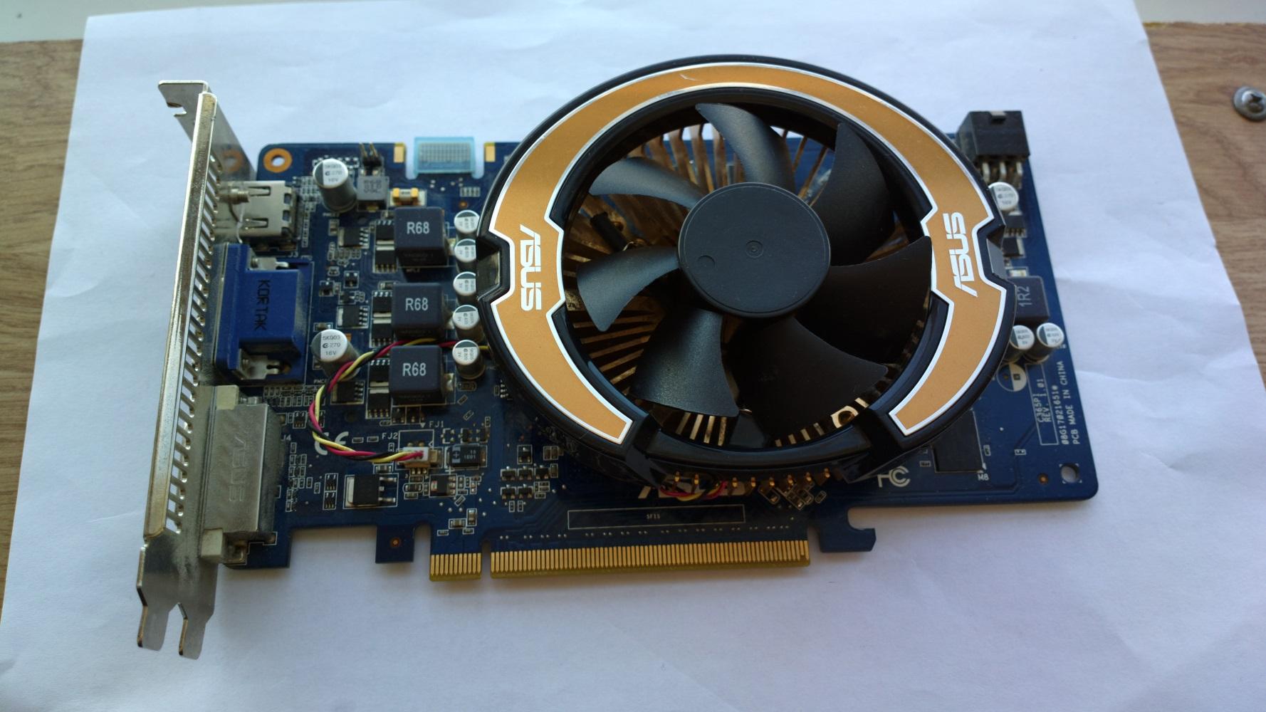 Видеокарта Nvidia GeForce GTS 250 1Gb 256 bit
